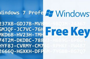 Windows 7 Free Key 100% WORKING
