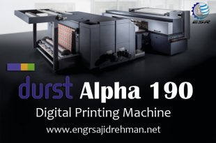 DURST Alpha Series | Alpha 190 | Digital Printing Machine | ESR Technologix